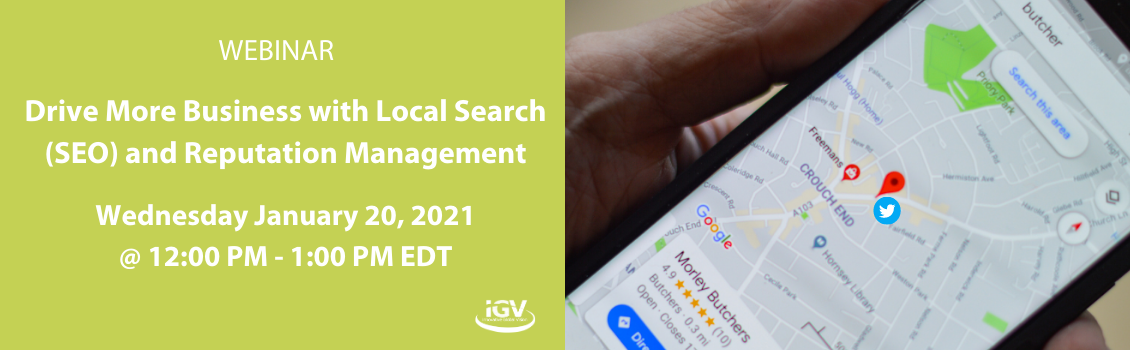 Drive More Business With Local SEO Jan 20