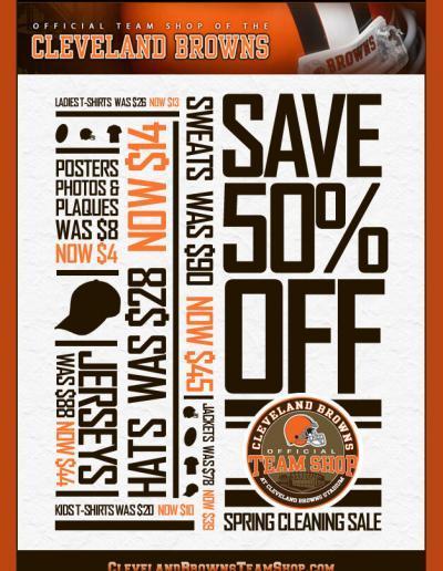 Cleveland Browns TeamShop Poster