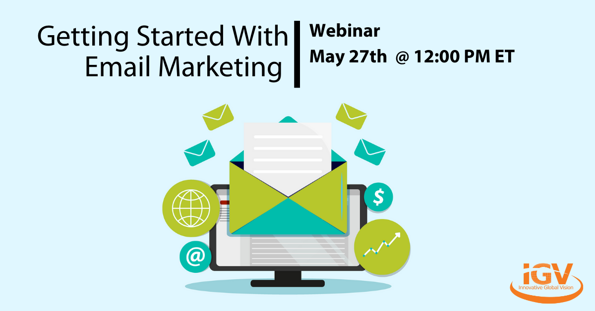 Getting Started With Email Marketing Webinar May 27