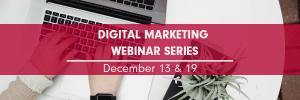Digital Marketing Webinar Series 2018