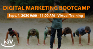 April 2020 Digital Marketing Bootcamp