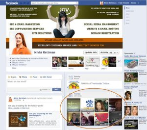 Facebook Personal Page