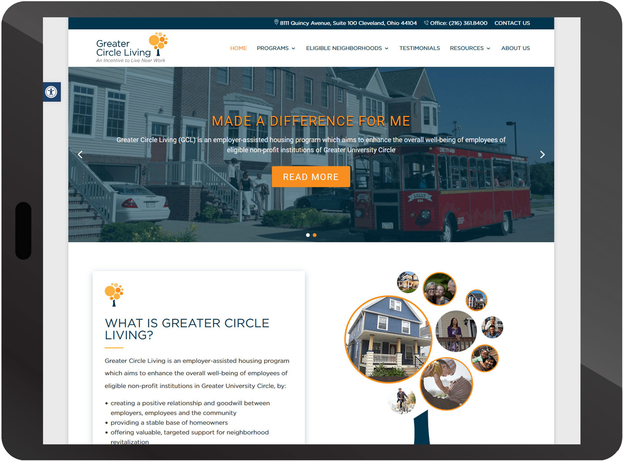 Oakwood Village New Website