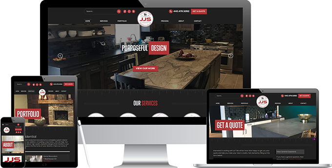 JJS Design And Build New Website