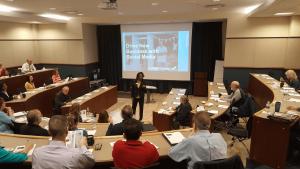 Karen Leonard Speaking Seminar Presentation