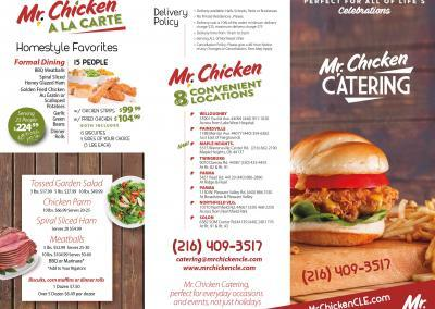 Mr.Chicken New Menu