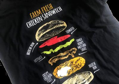 Farm Fresh Chicken Sandwich T-Shirt