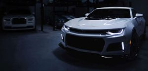 Pitcure of a muscle car - Chevy Camero