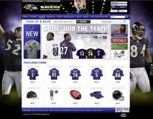 New Orleans Team Shop - eCommerce Website