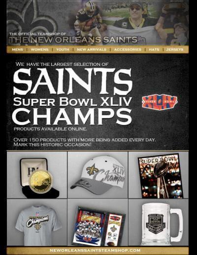 New Orleans Saints Flyer