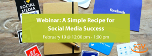 A simple recipe for social media feb 2020