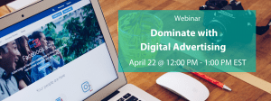 Dominate With Digital Advertising Banner Image
