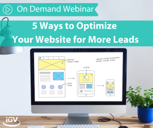 Webiste Leads Webinar On Demand IGV