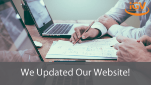 Updated our Website