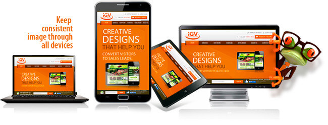Responsive Mobile Friendly Website Designing