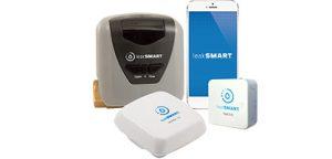 Leak Smart patent design, Smartphone app, sensor and beacon