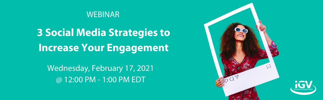 increase social media engagement webinar