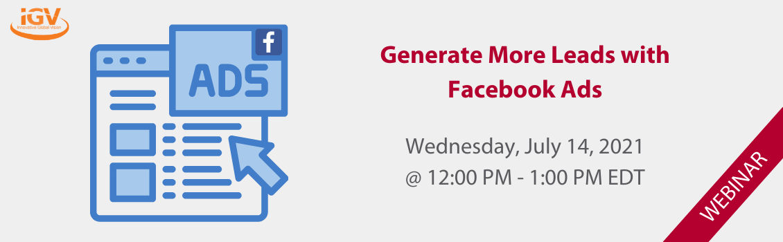 Generate More Leads with Facebook Ads