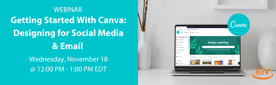 Getting Started With Canva: Designing for Social Media & Email