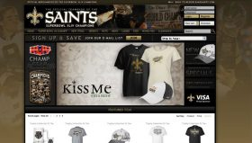 New Orleans Saints Team Shop